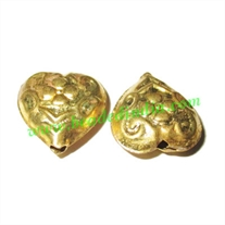 Fine Quality Hollow Metal Beads, size: 7x16mm