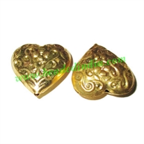 Fine Quality Hollow Metal Beads, size: 10x26mm