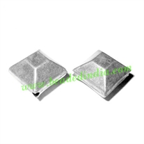 Fine Quality Hollow Metal Beads, size: 12x15mm