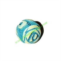Wooden Carved Beads, size 19mm, weight approx 2.5 grams