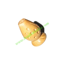 Natural Color Wooden Beads, size 14x23mm, weight approx 1.77 grams