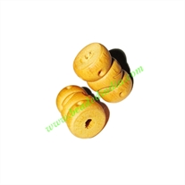 Natural Color Wooden Beads, size 12x19mm, weight approx 1.4 grams