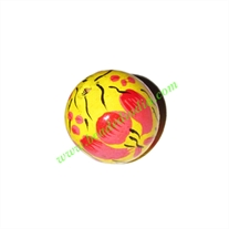 Wooden Painted Beads, Fancy Design Hand-painted beads, size 27mm, weight approx 7.16 grams