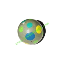 Wooden Painted Beads, Fancy Design Hand-painted beads, size 24mm, weight approx 4.5 grams