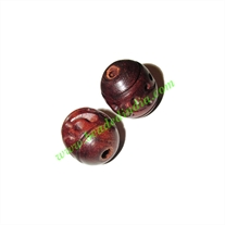 Rosewood Beads, Handcrafted designs, size 15x17mm, weight approx 2.72 grams