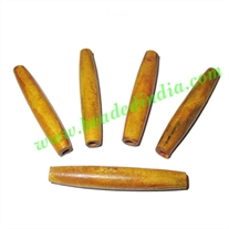 Horn Hairpipes Natural Color, size 4.0 inch, weight 17 grams, pack of 100 pcs.