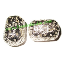 Light weight metal beads, size : 29x20mm