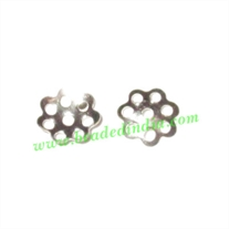 Light weight metal bead caps, size : 1x6mm