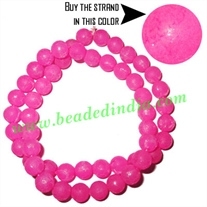 Fancy Achrylic Plastic Beads in strands, size : 8mm