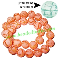 Fancy Achrylic Plastic Beads in strands, size : 12mm