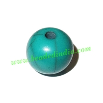 Resin Fancy Beads, Size : 11mm, weight 0.79 grams, pack of 100 Pcs.