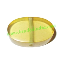 Resin Fancy Beads, Size : 9x18x27mm, weight 4.31 grams, pack of 100 Pcs.