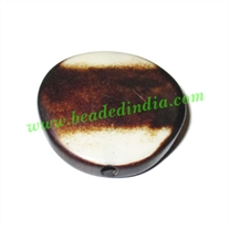 Resin Fancy Beads, Size : 6x26mm, weight 3.27 grams, pack of 100 Pcs.
