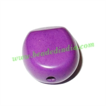 Resin Fancy Beads, Size : 12x21x19mm, weight 3.66 grams, pack of 100 Pcs.