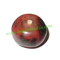 Resin Fancy Beads, Size : 14x20mm, weight 4.44 grams, pack of 100 Pcs.