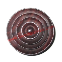 Handmade wood buttons, size : 20mm