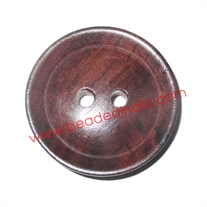Handmade wood buttons, size : 45mm