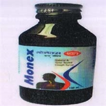 Monex Cough Syrup, pack of 100 ml