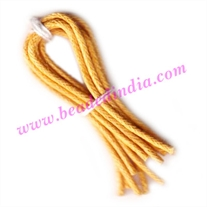 Cotton Wax Cords 3.0mm (three mm) Round
