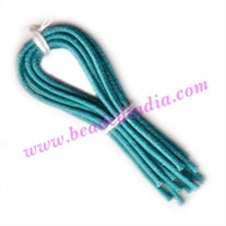 Cotton Wax Cords 1.5mm (one and half mm) Round