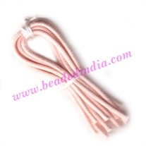 Cotton Wax Cords 4.0mm (four mm) Round