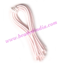 Cotton Wax Cords 2.0mm (two mm) Round