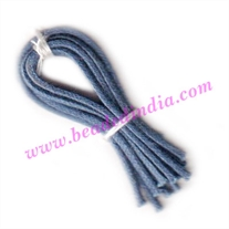 Cotton Wax Cords 1.0mm (one mm) Round