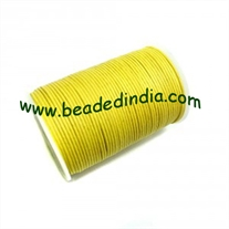 High quality round cotton waxed cords 1.5mm (one and half mm)