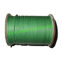 High quality round cotton waxed cords 3.0mm (three mm)