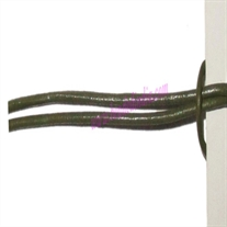 Leather Cords 0.5mm (half mm) round, regular color - mehandi.