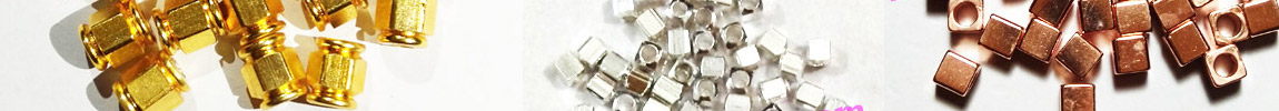 Solid Brass Metal Beads