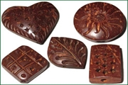 coconut shell wood beads