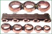copper metal spacer bars