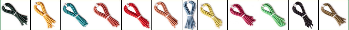 Round Cotton Wax Cords