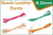 4.0 mm suede leather cords