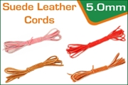 5.0 mm suede leather cords