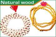 natural wood beads strings (mala)