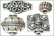 sterling silver .925 fancy beads