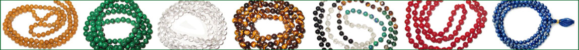 Semi Precious Prayer Rosary (Mala)