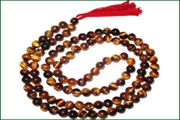 gemstone 5mm round 108 beads mala