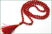 gemstone 7mm round 108 beads mala