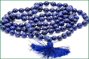 gemstone 8mm round 108 beads mala