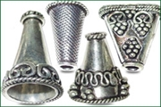 silver plated cones