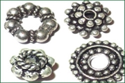 silver plated spacers