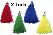2 inch long silk tassels