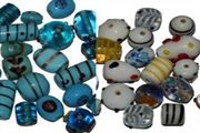 overstock glass beads