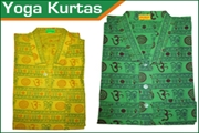 yoga cotton kurta-om printed kurta