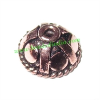 Copper Metal Caps, size: 5x10.5mm, weight: 0.93 grams.
