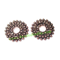 Copper Metal Spacers, size: 2x16mm, weight: 1.58 grams.