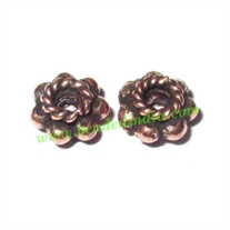 Copper Metal Spacers, size: 4x6mm, weight: 0.48 grams.